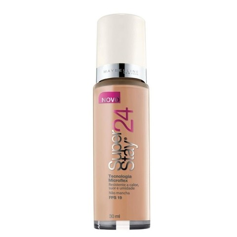 Base Líquida Super Stay 24h Cor 70 Pure Beige Medium - Maybelline