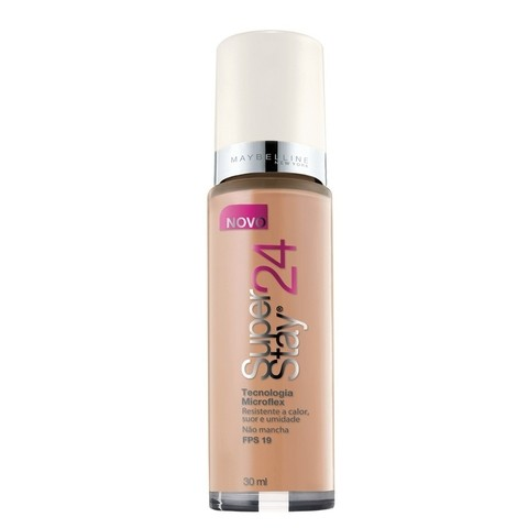 Base Líquida Super Stay 24h Cor 60 Classic Beige Medium - Maybelline