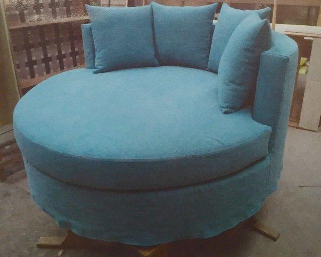 sillon divan pastilla circular moderno redondo