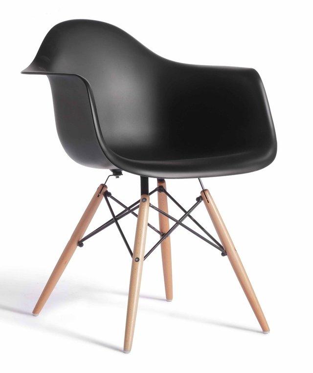 silln eames black - Sillon Eames