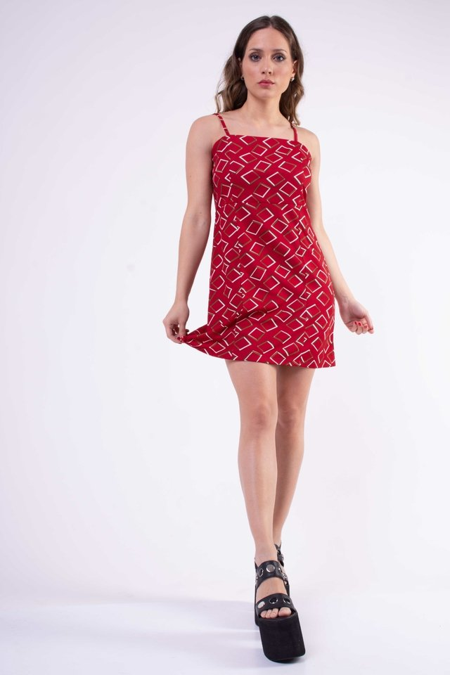 Vestido Red in Love Art:2768