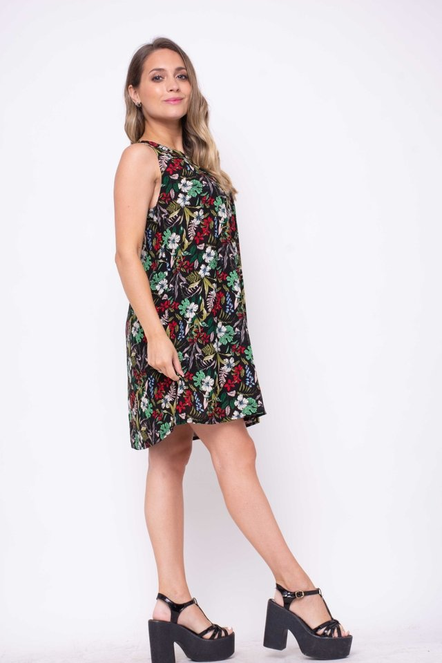 Vestido Recife Floreado Art:2996 en internet