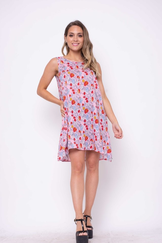 Vestido Recife Floreado Art:2996 - Arizona