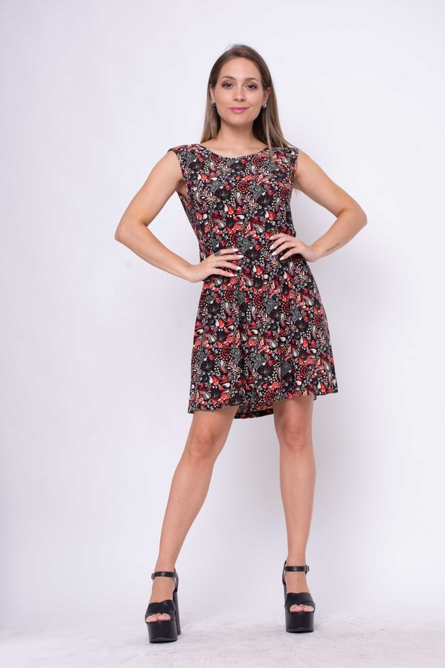 Vestido Positive Floreado Art:3100 en internet