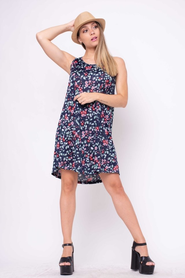 Vestido Positive Floreado Art:3100