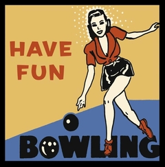 Poster Retro Series - Have Fun Bowling - comprar online