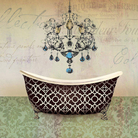 French Vintage Bath I - Aimee Wilson