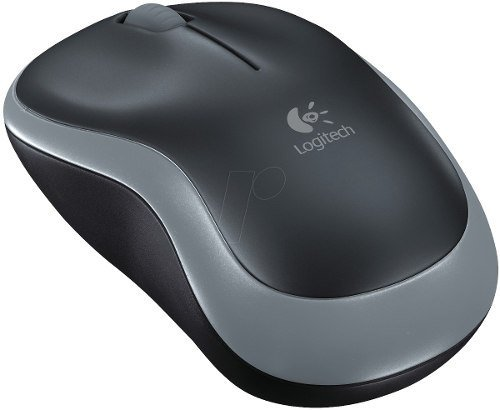 Mouse Logitech Optico M185 Inalambrico Mac Win Usb 2.4 Ghz