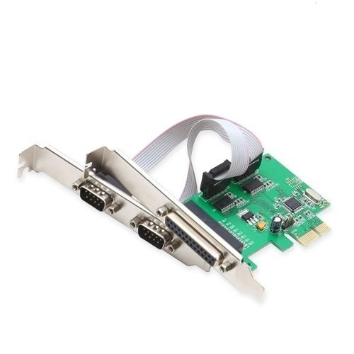 Placa Pci Ex 1x Paralelo Db25 Serial Db9 Kanji Royal