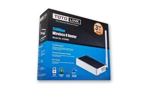 Router Wireless Toto Link Tl N100re Repetidor Vlan Wps 150mb en internet
