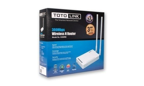 Router Wireless Toto Link Tl N300rb Repetidor Vlan Wps 300mb - Royal Systel Informatica SRL