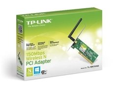 Placa Wireless Pci 2.2 Tp Link 751nd 150mbps Ant Desm 2dbi