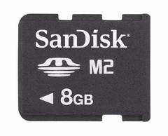 Memoria M2 8gb Sandisk Sony Original Usb 3g 4g Stick Sd Hd