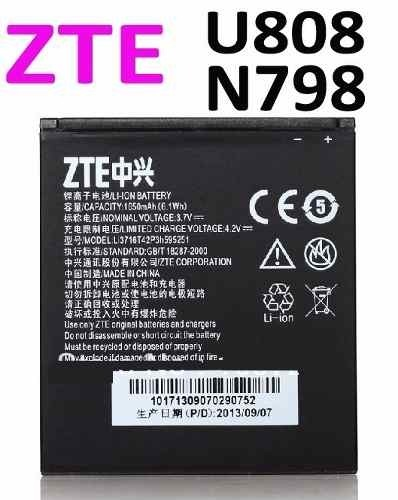 Batería Celular Zte Original Usb Wifi Mp3 Sd Pc Gb Hd 4g 3g