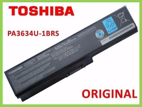 Batería Laptop Toshiba Pa3817u Usb Wifi Sd Gb 4g Original 3g en internet