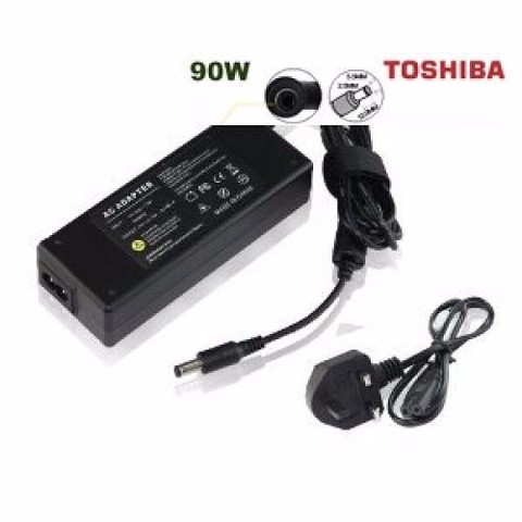 Adaptador Cargador Laptop Toshiba 90w Wifi Usb Notebook Gb