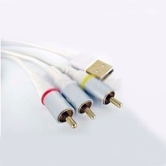 Cable Video Usb Apple Ipod Touch Iphone Ipad Mp3 3g Wifi Gb