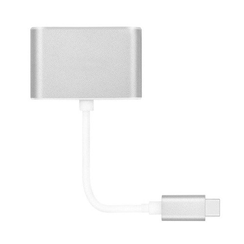 Adaptador Usb-c Hdmi Vga  Samsung Lg Macbook Nokia 4g Gb Hd - ELECTROSUPPLIES