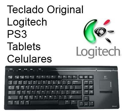 Teclado Bluetooth Logitech Original Ps4 Tablet Celular Ipad