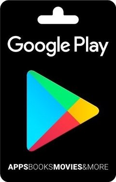 Tarjeta Google Play Android Iphone Celular Tablet $10 $15 Gb