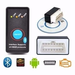 Adaptador Obd Auto Android Iphone Laptop Bluetooth Usb Wifi