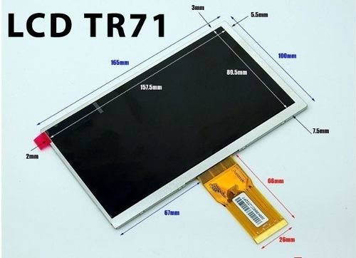 Kit Touch + Display Tablet Cce Motion Tab T735 T737 Tr71 na internet
