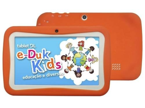 Imagem do Tela Touch Tablet Dl E-duk Kids 7 Polegadas E-duk Sem Uso