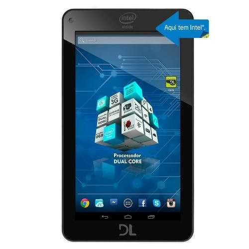 Imagem do Tela Touch Tablet Login Slin Dual Core Intel Com Fita 3m