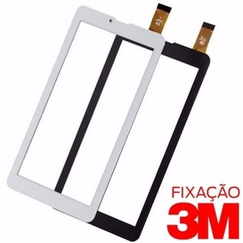 Tela Touch Do Tablet Dl Tp254 Tp254bra Tp 254 3g Dual