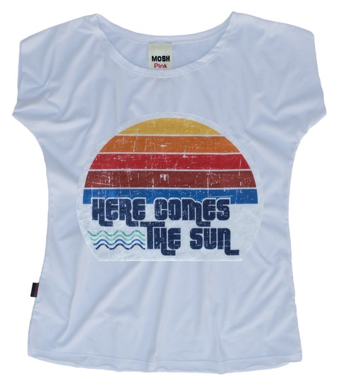 Remera Heres Come The Sun