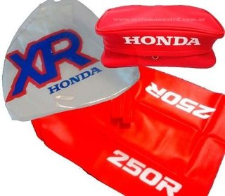 Kit Funda Tanque Asiento Cartuchera Honda Xr250 Xr 250 92