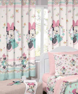 Cortina Infantil Santista Minnie Liberty