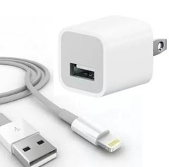 Cargador De Pared De Iphone Con Cable Usb