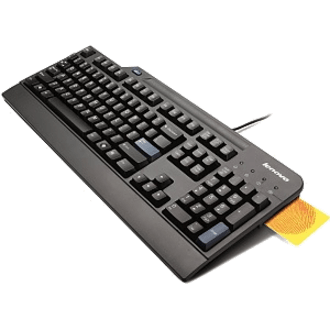Lenovo Teclado USB com Smart Card Reader