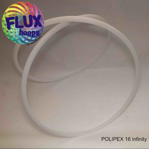 POLYPEX 16 INFINITY  - TRAVEL  HOOP  - Bambole Profissional 16mm colapsável- Polietileno reticulado