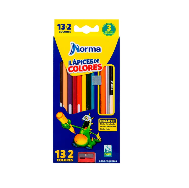 COLOR NORMA X 13 +2 LARGO. COD: 281