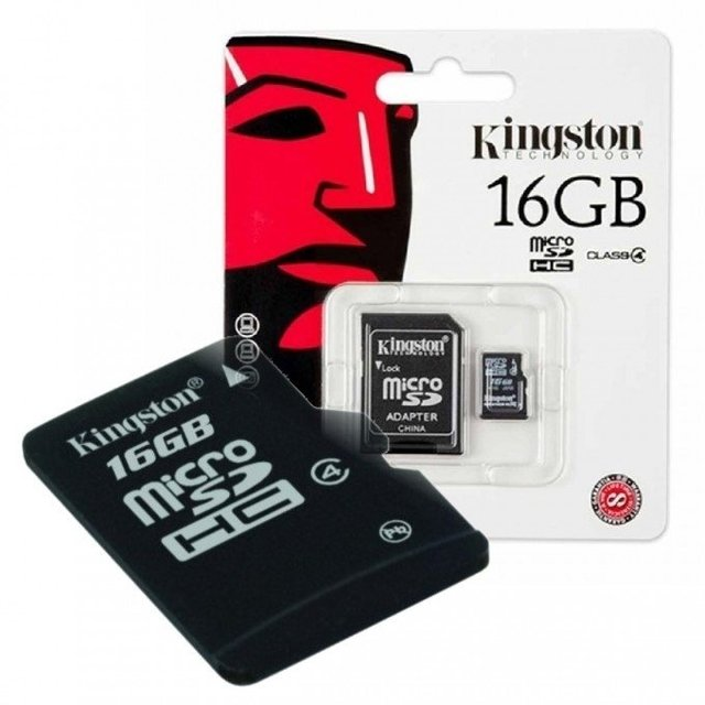 Memoria micro  sd de 16 gigas kingston