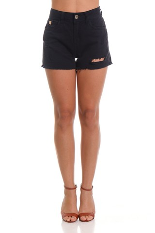 Short Sarja Black - SHOP COLCCI