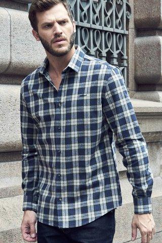5b7bdb735 Camisa Flanela Xadrez Slim - SHOP COLCCI OFICIAL