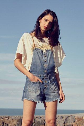 65590dc2a Jardineira Jeans - Comprar em SHOP COLCCI OFICIAL