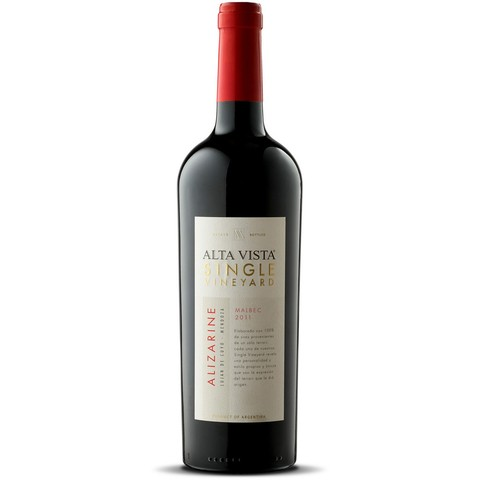 Alta Vista - Single Vineyard Alizarine | Malbec 2011 - comprar online