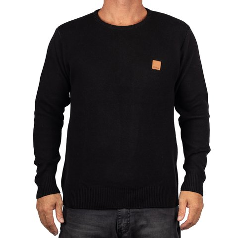 SWEATER SLIM DOBLE CUELLO REDONDO