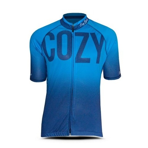 Jersey Ciclismo Cozy Sport Corte Fit - Azul