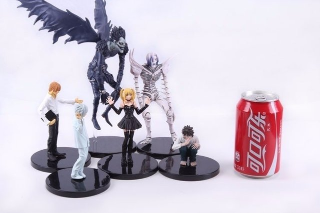 Death Note (Kit 6 Personagens) na internet
