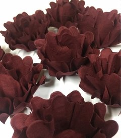 Fabric Flower for Wedding Sweets Nádia (100 pieces) on internet