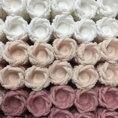 Fabric Flower Wrappers for Wedding Sweets Helena (30 pieces) on internet