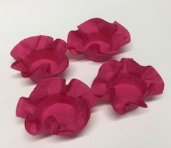 Kit of Wrappers for Wedding Sweets in Dark Pink (50 pieces)
