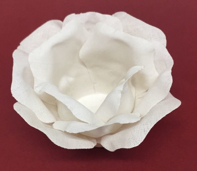 Fabric flower wrappers for wedding sweets off white beatriz 50 pieces fabric flower wrappers for wedding sweets beatriz off mightylinksfo
