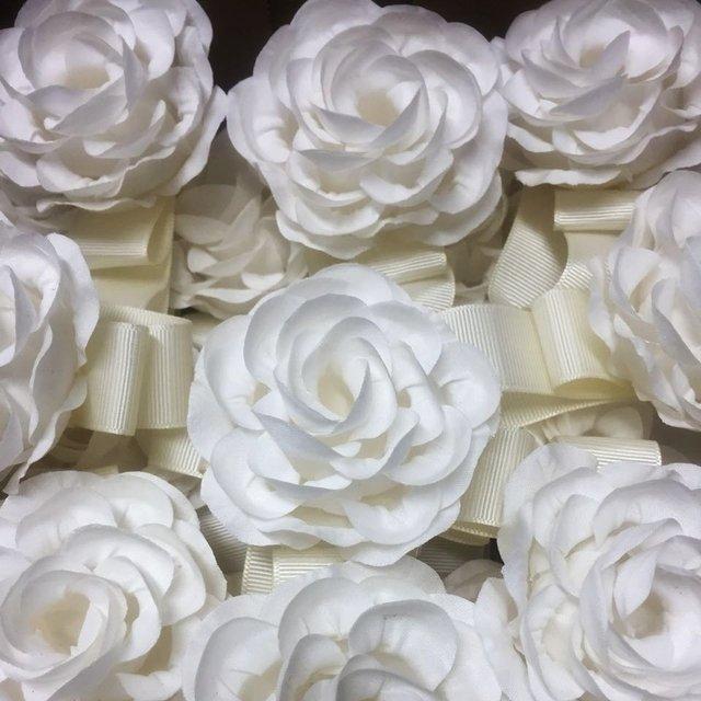 Napkin ring for wedding decor fabric flower 10p napkin ring for wedding decor fabric flower p1 mightylinksfo Images