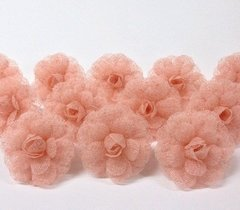 Napkin Holder for Weddings Flower in Ecomesh (10 pieces) on internet